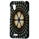 Stained Glass Colorful Glass HTC Desire VT (T328T) Hardshell Case View3