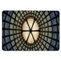 Stained Glass Colorful Glass Samsung Galaxy Tab 8.9  P7300 Flip Case View1