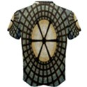 Stained Glass Colorful Glass Men s Cotton Tee View2