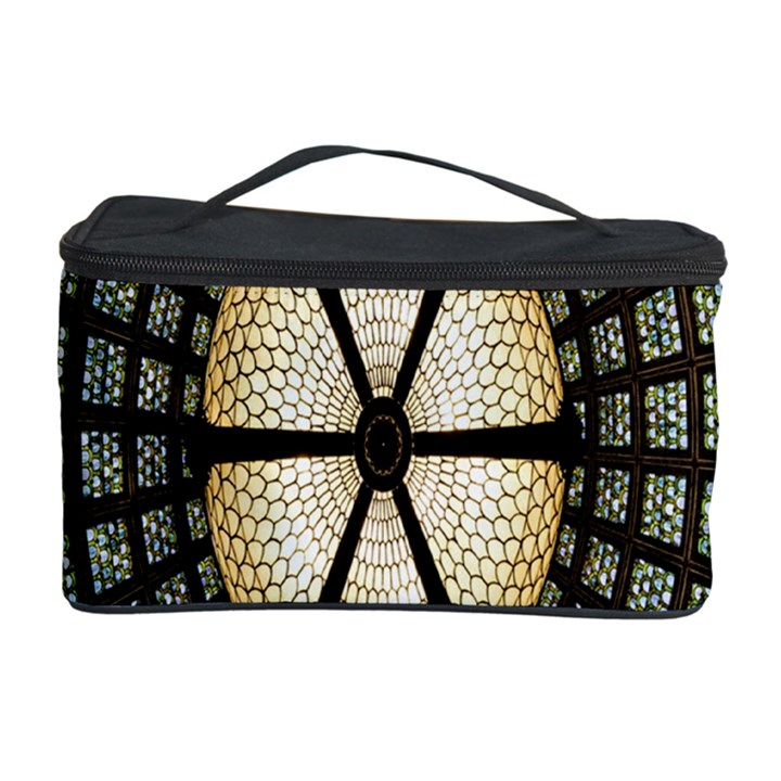 Stained Glass Colorful Glass Cosmetic Storage Case