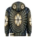 Stained Glass Colorful Glass Men s Pullover Hoodie View2