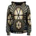 Stained Glass Colorful Glass Women s Pullover Hoodie View1