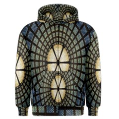 Stained Glass Colorful Glass Men s Zipper Hoodie
