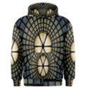 Stained Glass Colorful Glass Men s Zipper Hoodie View1