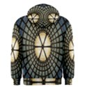 Stained Glass Colorful Glass Men s Zipper Hoodie View2