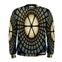 Stained Glass Colorful Glass Men s Sweatshirt View1
