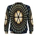 Stained Glass Colorful Glass Men s Sweatshirt View2