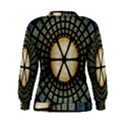 Stained Glass Colorful Glass Women s Sweatshirt View2