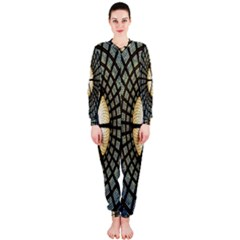 Stained Glass Colorful Glass OnePiece Jumpsuit (Ladies)