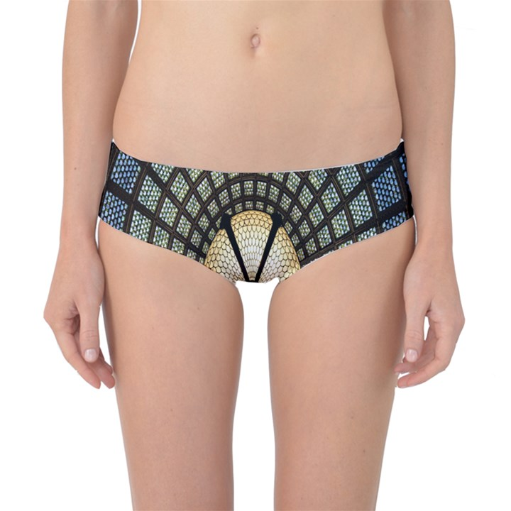 Stained Glass Colorful Glass Classic Bikini Bottoms