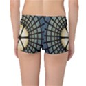 Stained Glass Colorful Glass Reversible Boyleg Bikini Bottoms View2