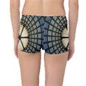 Stained Glass Colorful Glass Reversible Boyleg Bikini Bottoms View4