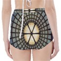 Stained Glass Colorful Glass High-Waisted Bikini Bottoms View2