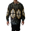 Stained Glass Colorful Glass Hooded Wind Breaker (Kids) View1