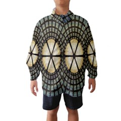 Stained Glass Colorful Glass Wind Breaker (Kids)