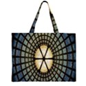 Stained Glass Colorful Glass Large Tote Bag View1