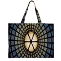 Stained Glass Colorful Glass Large Tote Bag View2