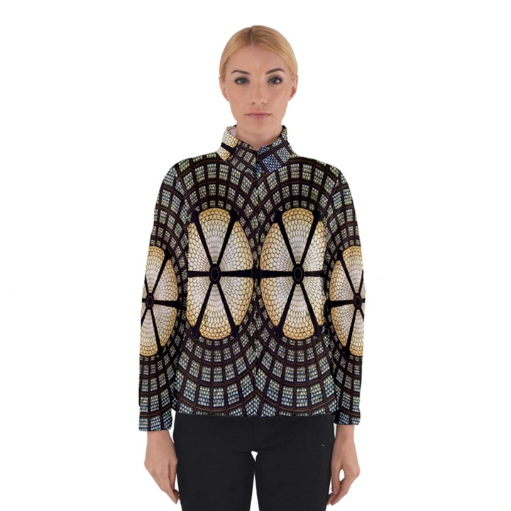 Stained Glass Colorful Glass Winterwear