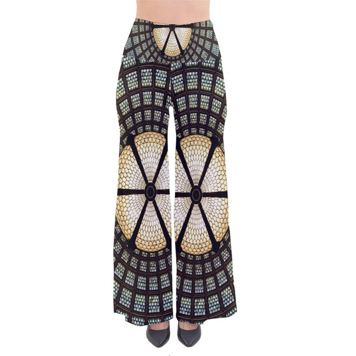 Stained Glass Colorful Glass Pants