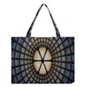 Stained Glass Colorful Glass Medium Tote Bag View1
