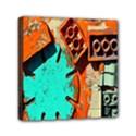 Sunburst Lego Graffiti Mini Canvas 6  x 6  View1