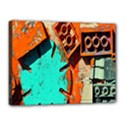 Sunburst Lego Graffiti Canvas 16  x 12  View1