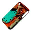 Sunburst Lego Graffiti Apple iPhone 3G/3GS Hardshell Case (PC+Silicone) View4