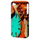 Sunburst Lego Graffiti Apple iPhone 4/4S Hardshell Case (PC+Silicone) View3