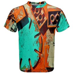 Sunburst Lego Graffiti Men s Cotton Tee