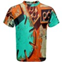 Sunburst Lego Graffiti Men s Cotton Tee View1