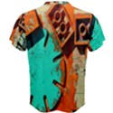 Sunburst Lego Graffiti Men s Cotton Tee View2