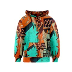 Sunburst Lego Graffiti Kids  Zipper Hoodie