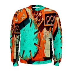 Sunburst Lego Graffiti Men s Sweatshirt