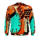Sunburst Lego Graffiti Men s Sweatshirt View2
