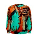 Sunburst Lego Graffiti Women s Sweatshirt View1