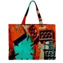 Sunburst Lego Graffiti Zipper Mini Tote Bag View2