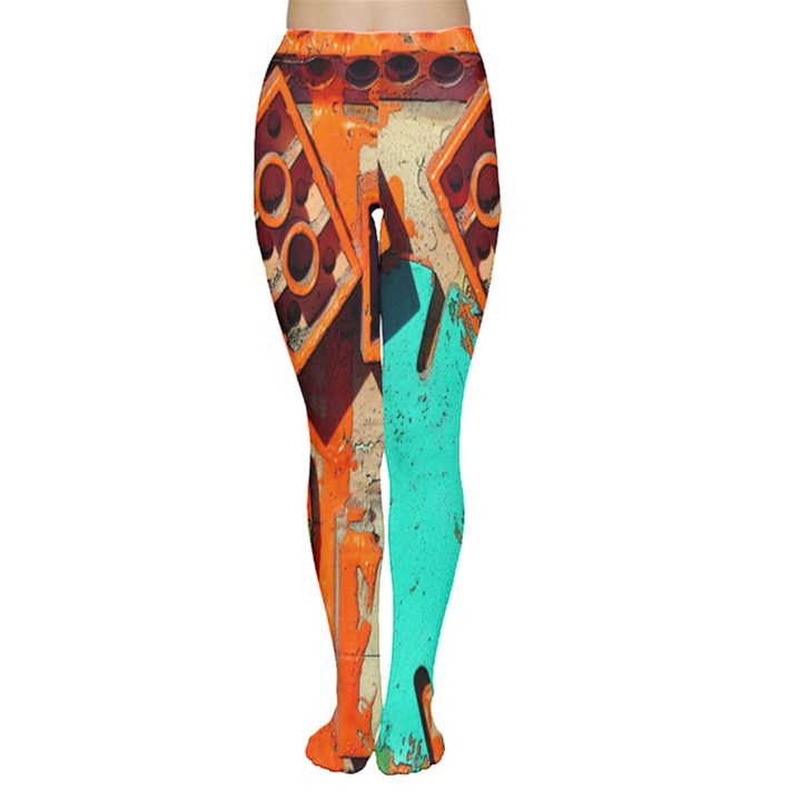 Sunburst Lego Graffiti Women s Tights