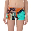 Sunburst Lego Graffiti Reversible Boyleg Bikini Bottoms View1