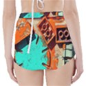 Sunburst Lego Graffiti High-Waisted Bikini Bottoms View2