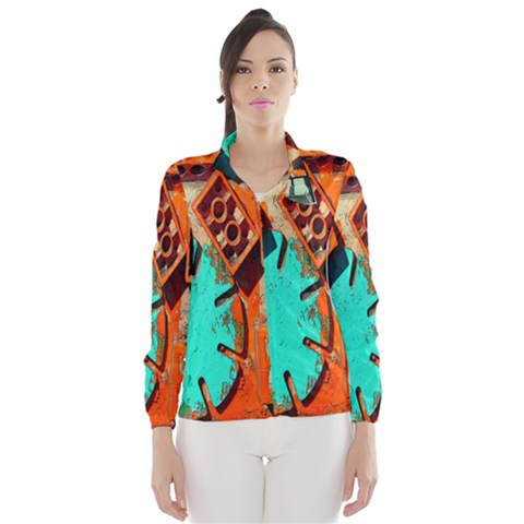 Sunburst Lego Graffiti Wind Breaker (Women)
