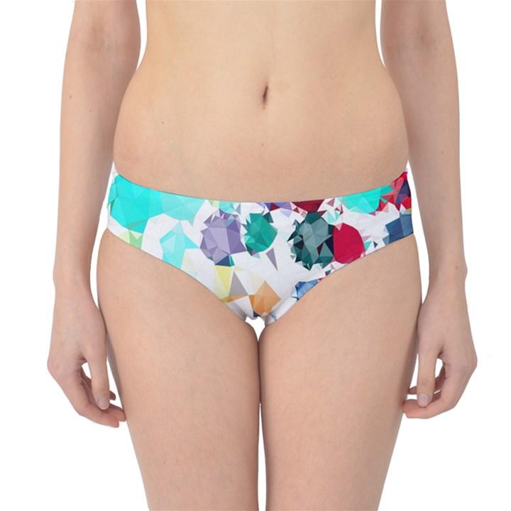 Colorful Diamonds Dream Hipster Bikini Bottoms