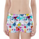 Colorful Diamonds Dream Boyleg Bikini Wrap Bottoms View1
