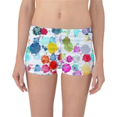 Colorful Diamonds Dream Reversible Boyleg Bikini Bottoms
