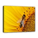Sun Flower Bees Summer Garden Canvas 14  x 11  View1