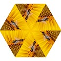 Sun Flower Bees Summer Garden Mini Folding Umbrellas View1