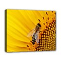 Sun Flower Bees Summer Garden Deluxe Canvas 20  x 16   View1