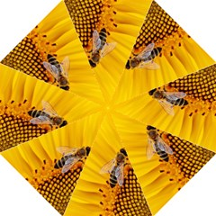 Sun Flower Bees Summer Garden Golf Umbrellas