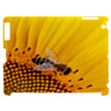 Sun Flower Bees Summer Garden Apple iPad 2 Hardshell Case (Compatible with Smart Cover) View1
