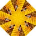 Sun Flower Bees Summer Garden Hook Handle Umbrellas (Small) View1