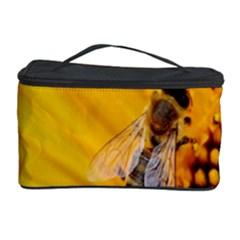 Sun Flower Bees Summer Garden Cosmetic Storage Case
